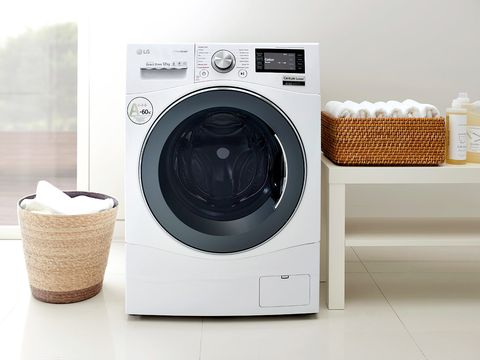 Product, Washing machine, Major appliance, Clothes dryer, Home appliance, Machine, Circle, Beige, Laundry, Space,