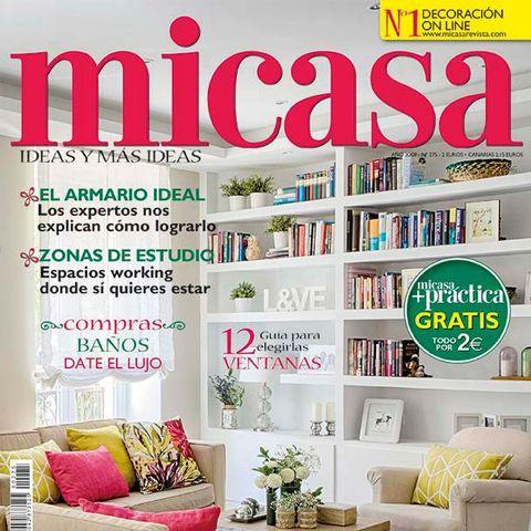 Magazine, Room, Furniture, Publication, Interior design, Living room, Home, Shelving, Shelf, Font,