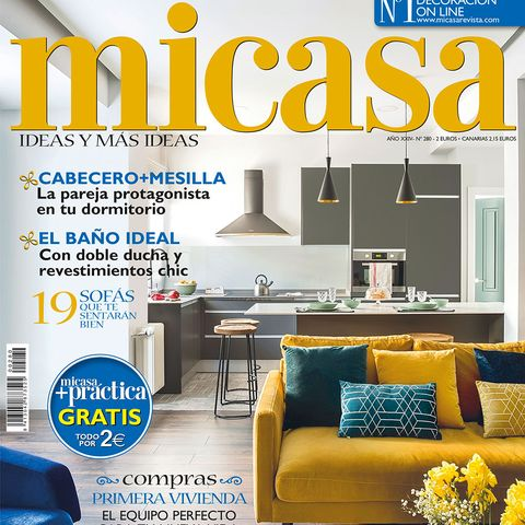 Room, Home, Interior design, Magazine, Furniture, Property, Yellow, Living room, House, Building,