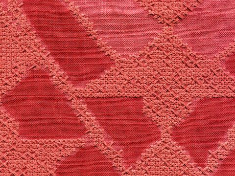 Brown, Textile, Red, Pattern, Pink, Magenta, Maroon, Creative arts, Beige, Close-up,
