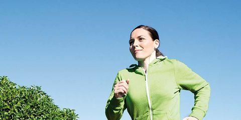 Footwear, Mouth, Sleeve, Green, Shoe, Outerwear, Sportswear, Active pants, Jacket, Running,