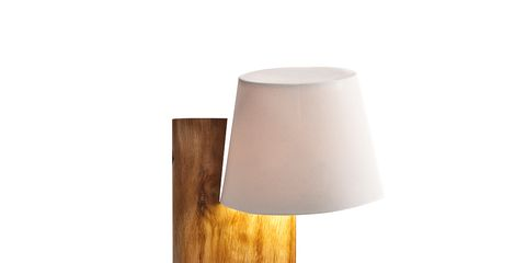 Wood, Lampshade, Lighting accessory, Lamp, Light fixture, Wood stain, Beige, Plywood, Cylinder, Silver,