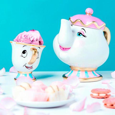 Cartoon, Pink, Clip art, Tableware, Teacup, Illustration, Serveware, Drinkware,