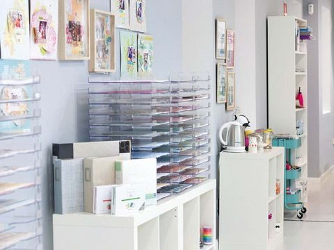 Room, Shelving, Wall, Shelf, Paint, Collection,