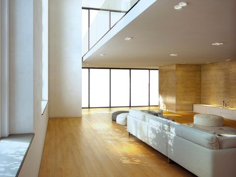 Room, Ceiling, Floor, Interior design, Property, Building, Wall, Wood flooring, Architecture, Daylighting,