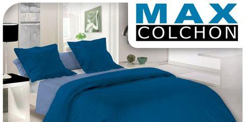 Blue, Bed, Product, Room, Bedding, Property, Interior design, Textile, Bedroom, Bed sheet,