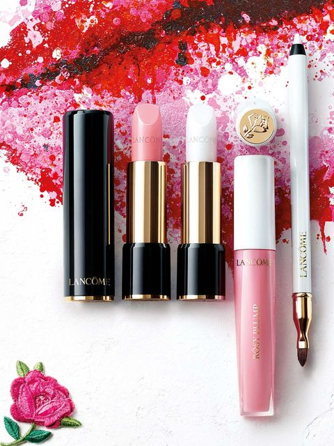 Red, Lipstick, Magenta, Pink, Colorfulness, Tints and shades, Peach, Petal, Purple, Cosmetics,