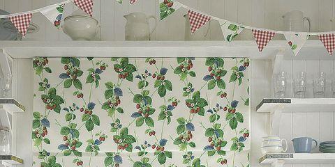 Green, Interior design, Room, White, Wall, Interior design, Ceiling, Countertop, Cabinetry, Kitchen,