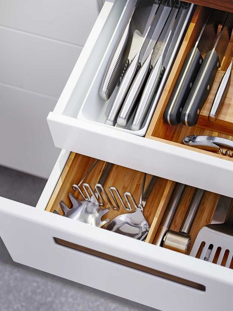 Cutlery, Collection, Shelving, Brush, Kitchen utensil,