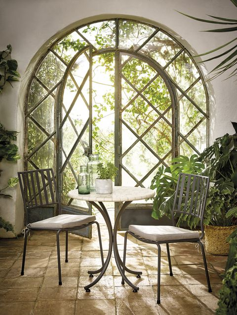 Arch, Furniture, Room, Architecture, Interior design, Building, Table, Window, Chair, House,