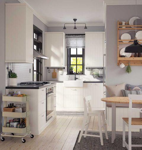 Room, Interior design, Wood, Floor, White, Furniture, Home, Ceiling, Table, Flooring,
