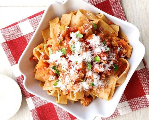 Food, Cuisine, Dish, Ingredient, White, Recipe, Pasta, Tableware, Condiment, Fast food,