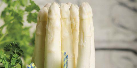 Asparagus, Yellow, Vegetable, Textile, Plant, Fashion accessory,
