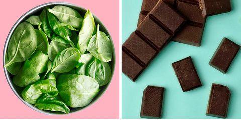 Green, Food, Superfood, Cuisine, Vegetarian food, Dish, Snack, Chocolate, Almond, Vegetable,