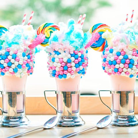 Food, Frozen dessert, Milkshake, Dessert, Confectionery, American food, Ice cream,