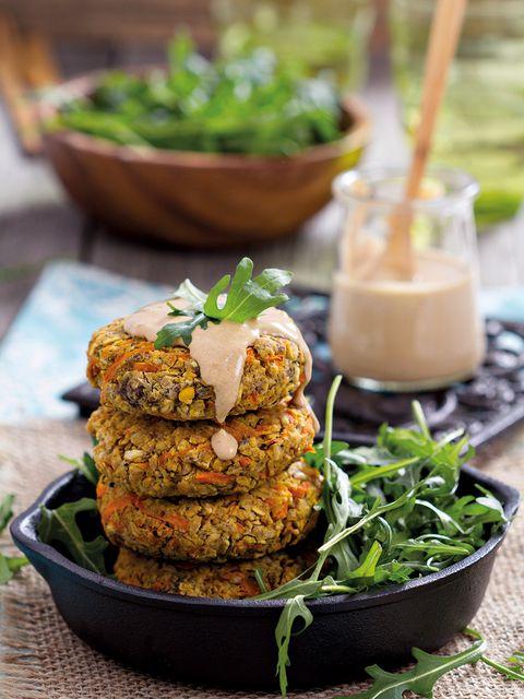 Dish, Food, Cuisine, Ingredient, Fritter, Vegan nutrition, Fishcake, Fried food, Patty, Produce,