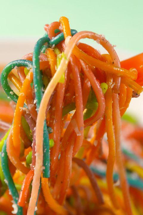 espaguetis arcoiris