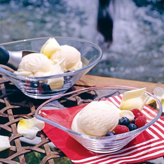 helado con mix de sabores
