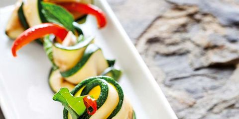 Dish, Food, Cuisine, Ingredient, Hors d'oeuvre, Zucchini, Finger food, Canapé, Vegetable, Vegetarian food,