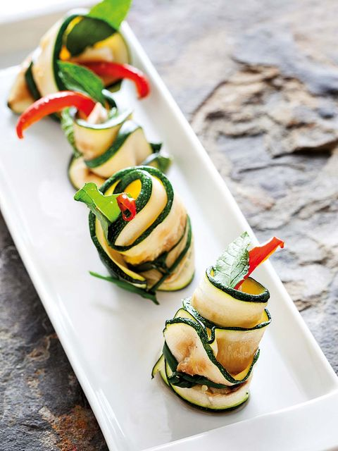 Food, Cuisine, Dish, Zucchini, Ingredient, Finger food, Hors d'oeuvre, Vegetarian food, Produce, appetizer,