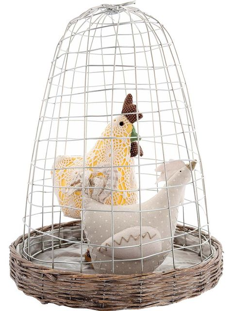 Cage, Pet supply, Bird supply, Basket, Wicker, Bird, Beak,