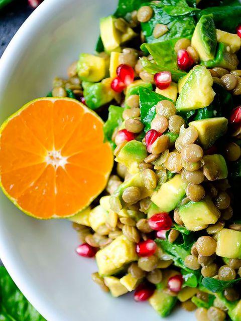 Food, Citrus, Produce, Fruit, Tableware, Vegetable, Natural foods, Orange, Legume, Plate,