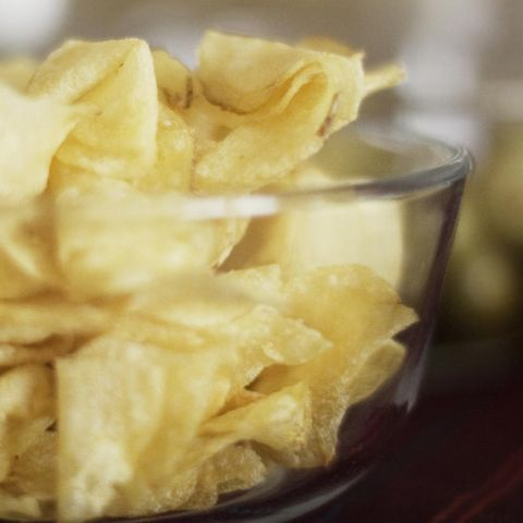 patatas fritas chips de patata