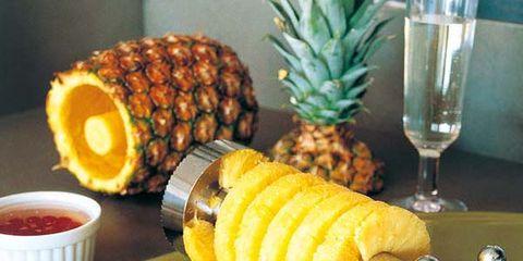Food, Serveware, Ingredient, Tableware, Glass, Produce, Dishware, Fruit, Meal, Ananas,