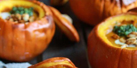 Food, Winter squash, Pumpkin, Dish, Calabaza, Cuisine, Ingredient, Vegetable, Produce, Vegetarian food,