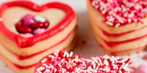 Food, Sweetness, Cuisine, Dessert, Baked goods, Ingredient, Red, Confectionery, Finger food, Recipe,