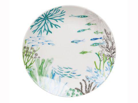Dishware, Plate, Porcelain, Easter egg, Grass, Platter, Ceramic, Plant, Tableware, Wildflower,
