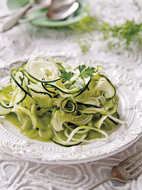 Food, Dish, Ingredient, Cuisine, Vegetable, Zucchini, Cucumber, Produce, Plant, Tagliatelle,