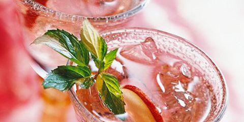 Drink, Alcoholic beverage, Liquid, Drinkware, Cocktail, Ingredient, Classic cocktail, Glass, Distilled beverage, Tableware,