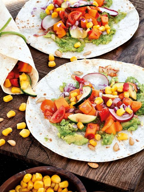 Tacos de ensalada