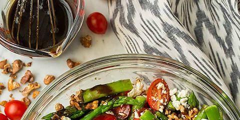 Food, Dishware, Cuisine, Tableware, Salad, Serveware, Ingredient, Leaf vegetable, Recipe, Kitchen utensil,