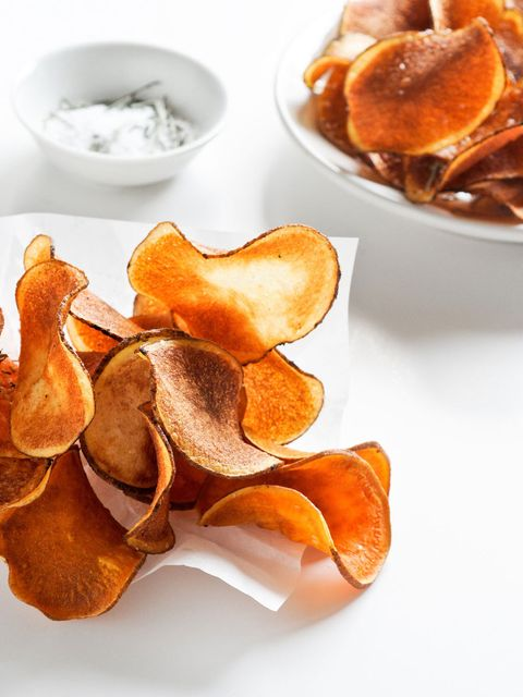 Junk food, Food, Potato chip, Dish, Ingredient, Cuisine, Chenpi, Wonton, Medicinal mushroom, Produce,