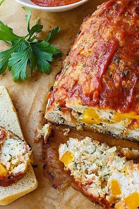 pastel turco de carne con bacón y calabaza
