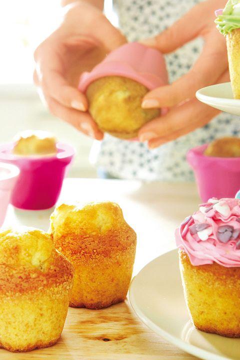 moldes de silicona para magdalenas y cupcakes