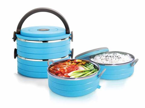 Blue, Turquoise, Aqua, Teal, Food storage containers, Lid, Dish, Bowl, Peach, Plastic,