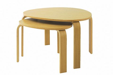 Brown, Table, Furniture, Tan, Khaki, End table, Beige, Rectangle, Wood stain, Material property,