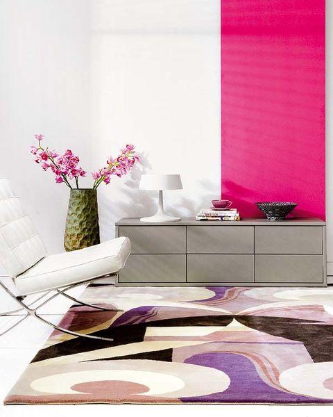 Room, Purple, Interior design, Pink, Petal, Violet, Wall, Interior design, Lavender, Magenta,