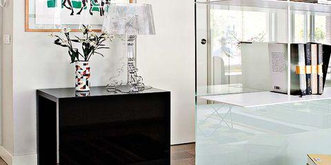 Floor, Interior design, Flooring, Room, Wall, Interior design, Grey, Tile, Light fixture, Material property,