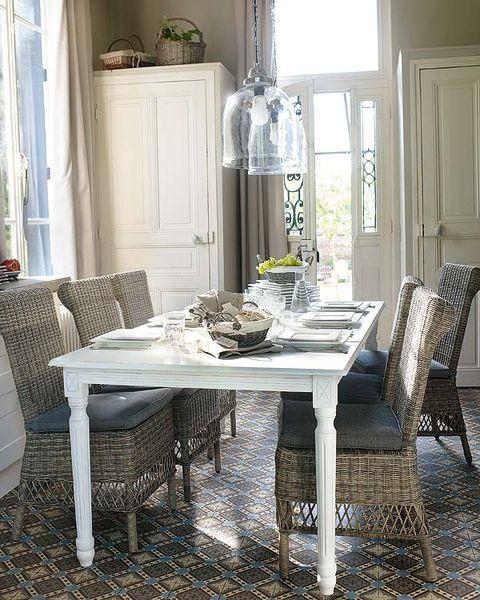 Room, Interior design, Furniture, Table, Floor, Home, Dining room, Flooring, Interior design, Fixture,