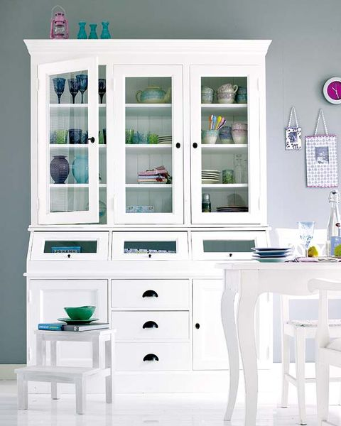 Green, Room, Drawer, White, Furniture, Cabinetry, Shelving, Interior design, Cupboard, Teal,