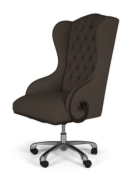 Product, Brown, Office chair, Chair, Black, Comfort, Armrest, Material property, Still life photography, Plastic,