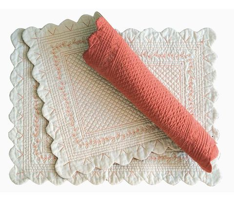 Textile, Pattern, Knitting, Linens, Crochet, Home accessories, Woolen, Wool, Beige, Thread,