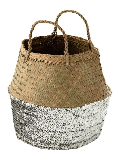 Beige, Circle, Home accessories, Storage basket, Basket, Label, Natural material, Cylinder, Wicker,