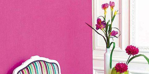 Petal, Furniture, Flower, Purple, Magenta, Chair, Cut flowers, Flowering plant, Bouquet, Interior design,