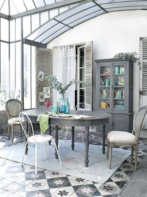 Interior design, Room, Furniture, Table, Floor, Chair, Flooring, Home, Interior design, Daylighting,
