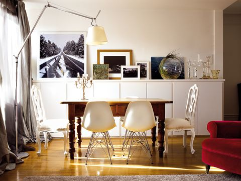 Room, Interior design, Floor, Flooring, Furniture, Home, Chair, Interior design, Picture frame, Wood flooring,